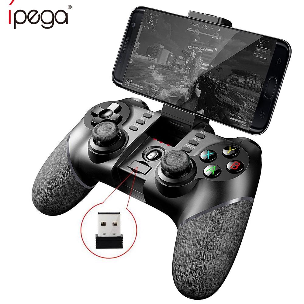 IPega PG 9076 PG-9076 Bluetooth Gamepad Avec 2.4g Adaptateur Sans Fil Contrôleur de Jeu Joystick pour Android Téléphones Windows PC PS3