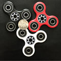 KAWO 3 kinds of color Tri-Spinner Fidget Toy Plastic EDC Hand Spinner For Autism and ADHD Rotation Time Long Anti Stress Toys