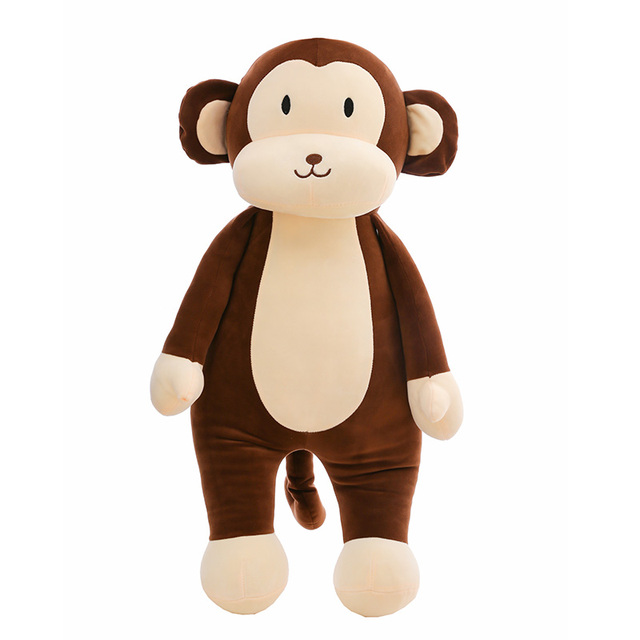 dorimytrader new cute big soft cartoon monkey plush toy giant