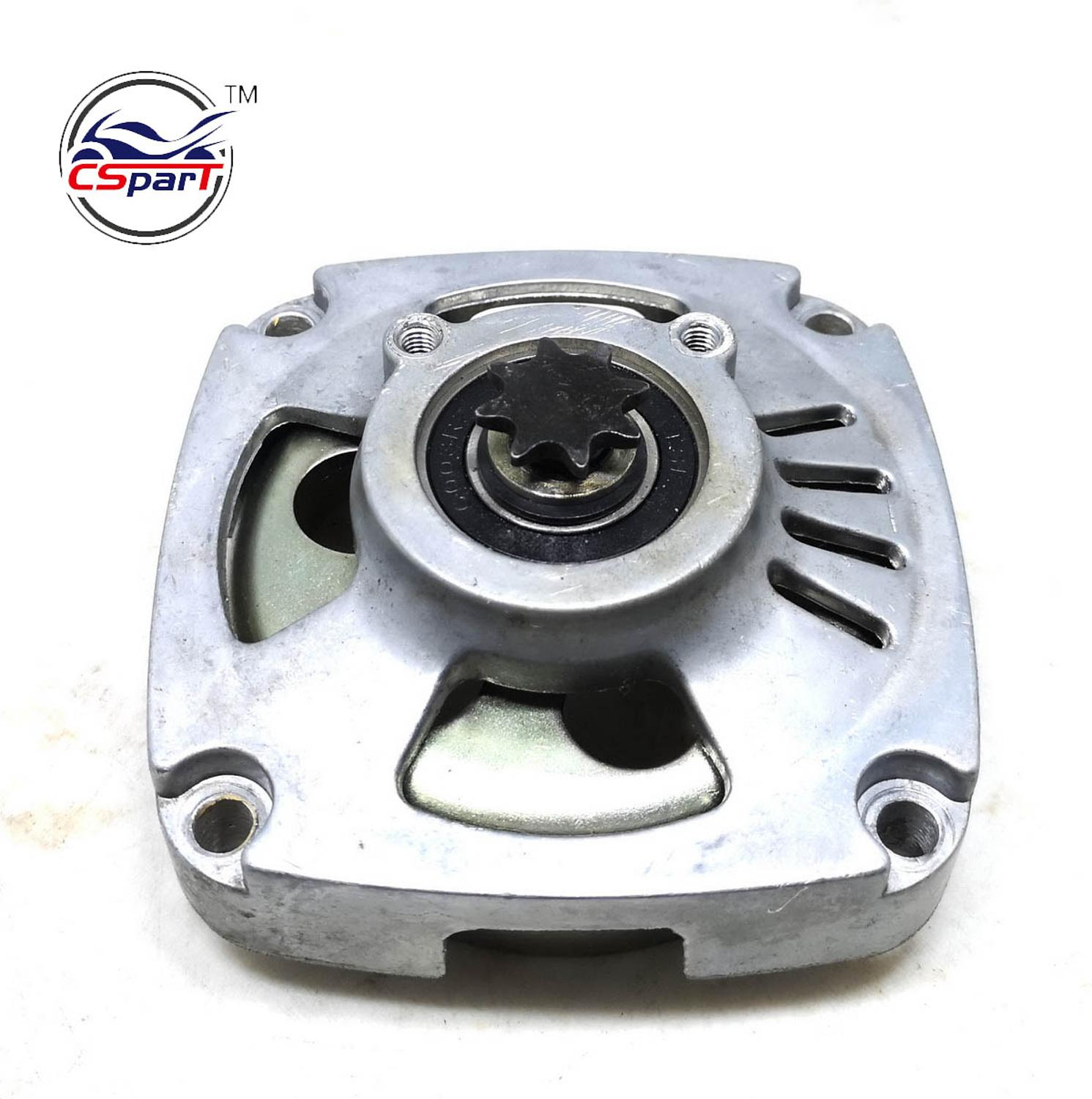 8 Tooth 25H 39CC 49CC Clutch Bell Housing Gear Box For Polini 910 Mini Moto Pocket