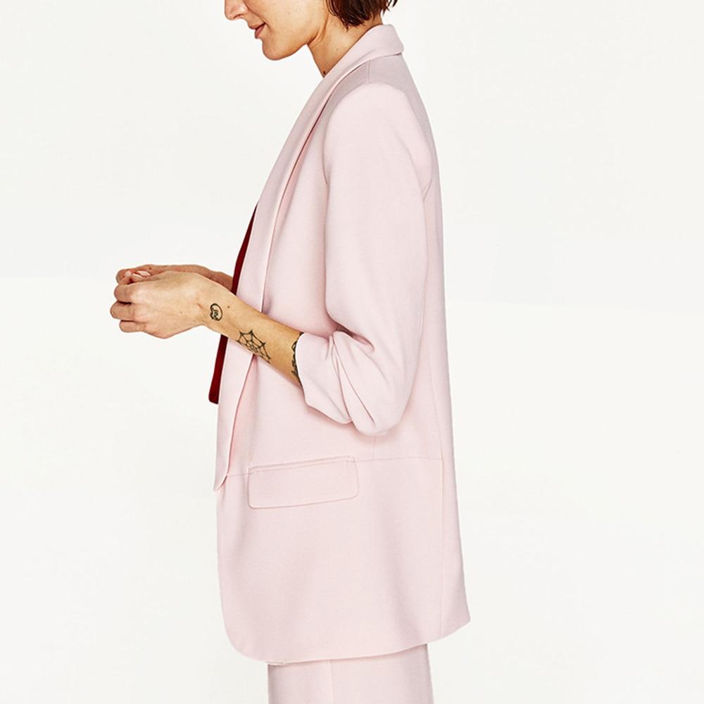 Black white Cappotto Mujer Di pink Lungo Signore Donna Cardigan Progettista  Della Delle 8a6004 Del Giacche Giacca ... aa8e6e2eecd