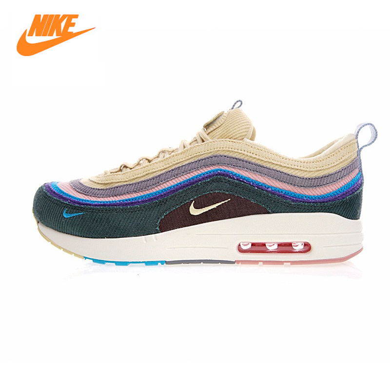 Nike Air Max 1/97 VF SW Men Running Shoes,Original New Arrival Authentic Men's Breathable Shoes Sport Outdoor Sneakers Shoes original new arrival authentic nike air max 90 ultra 2 0 flyknit men s running shoes breathable lightweight non slip outdoor