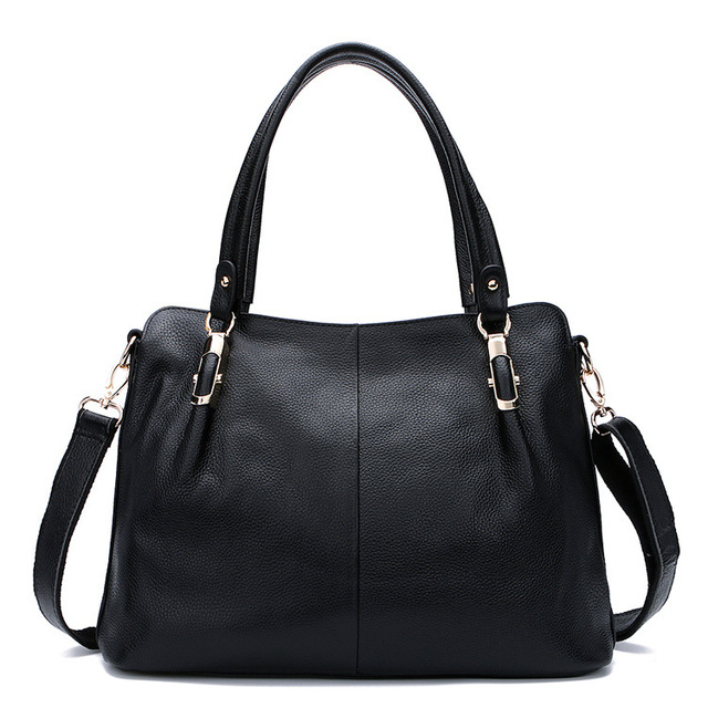 Women bag 2016 genuine leather bags handbags women famous brands women leather handbags women messenger bags purses and handbags