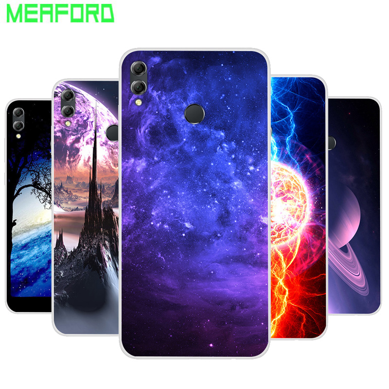 Silicone <font><b>Case</b></font> For Huawei <font><b>Honor</b></font> 8X Soft Print Back Cover For Huawei Y Max Clear bumper Phone <font><b>Case</b></font> for huawei <font><b>honor</b></font> 8X <font><b>X8</b></font> MAX 8C image