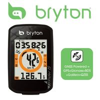 Bryton 15E Bike/Cycling GNSS Computer 2 Display 16hr Battery Life