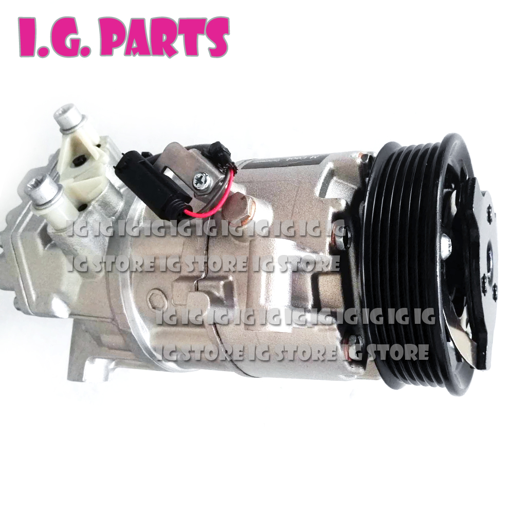 For Bmw E90 AC Compressor BMW 3 E91 64509145351 64509156821 64526915380 64529182793 CSE613C