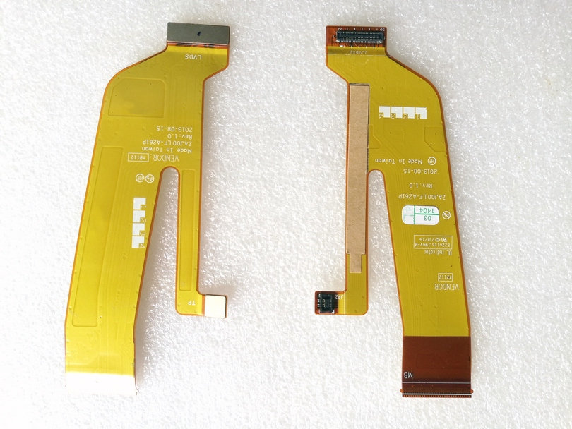 NEW original for 2520 RX 114 LCD FLEX CABLE ZAJ00 LF-A261P test good free shipping genuine new and original cable for lenovo y50 y50 70 zivy2 lcd flex cable dc02001yq00 flat cable non touch 30 pin cable