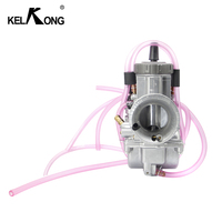 KELKONG 250cc Motorcycle For KEIHIN PWK Carburetor 33 34 35 36 38 40 42mm Racing Parts Scooters Dirt Bike ATV with Power Jet