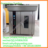 hot air gas baker oven for baking cake bread/rotating convection oven/gas potato baking oven
