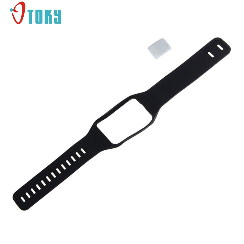 Excellent Quality New TPU Replacement Watch Wrist Strap Wristband Samsung Galaxy Gear S R750 Watch Band Accessories Dec-29