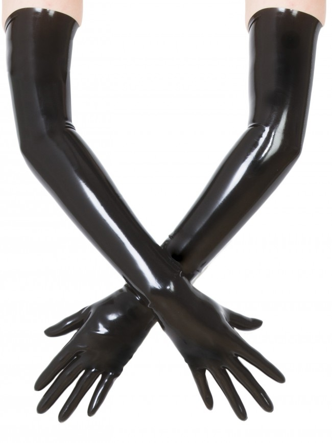 Latex shoulder gloves