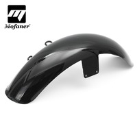 Motorcycle Mudguards Front Fender Cover Fairing For Honda Shadow VT600 VLX 600 ABS Plastic Black