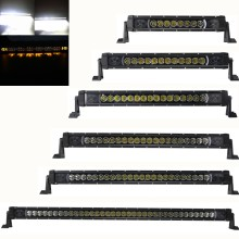 Car Accessories 12V 24V Amber DRL LED Work Light Bar For Jeep Truck ATV 4X4 Hummer Chevy Silverado Ford Toyota Nissan Pickup
