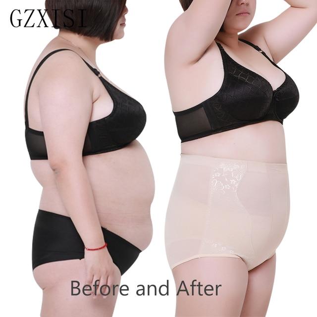 8f24e2a67d3 Women High Waist Body Shaper Panties Seamless Tummy Belly Control Waist  Slimming Pants Shapewear Girdles Underwear Waist Trainer