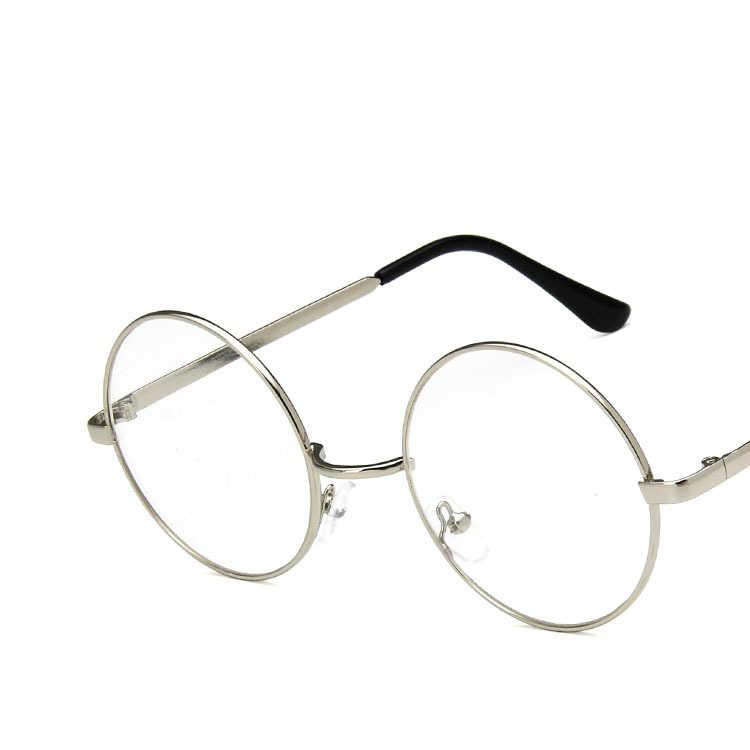 cc15f2fe8 Viodream Unisex Alloy Retro Circular Frame Small Round Optical Glasses Frame  Prescription Eyewear Spectacle Frame Oculos