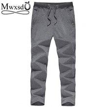Mwxsd männer casual jogger langen sporting bleistift hosen männlichen bequemes jogginghose für studert herrenbekleidung größe m-5xl