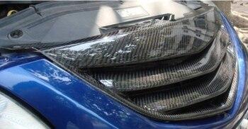 Fit voor MAZDA M6 03-05 koolstofvezel auto grill hoge kwaliteit