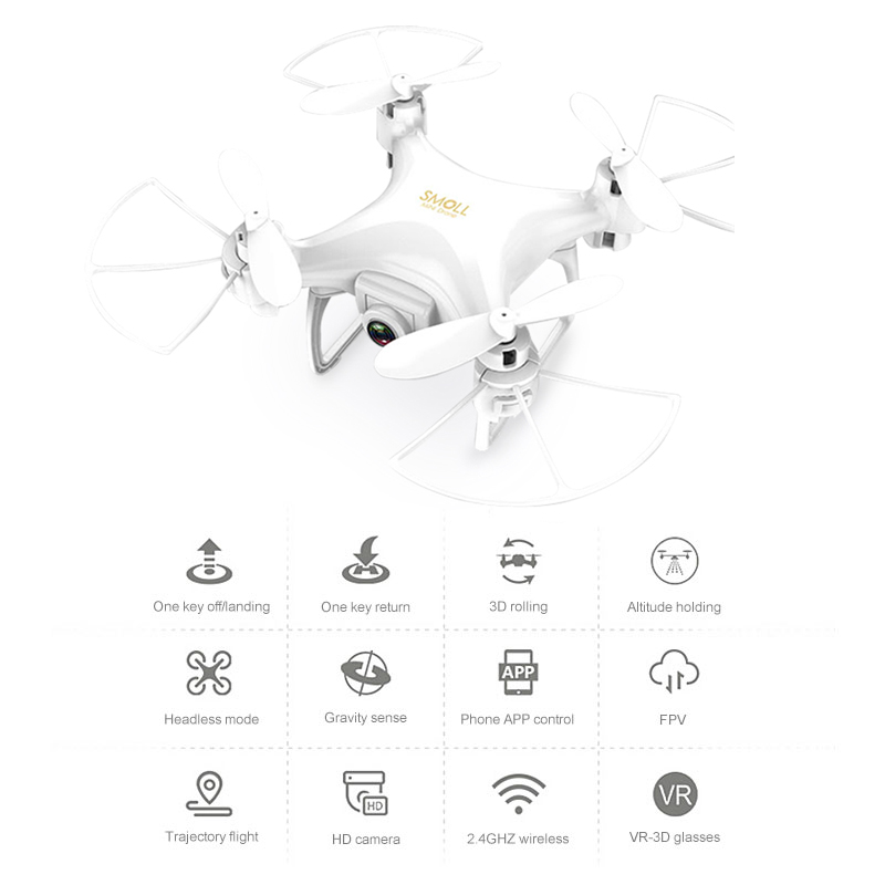 Global Drone Gw009c-1s Mini Drone With Camera Hd Upgrade Quadcopter Altitude Hold Rc Helicopter Drones Micro Dron Quadrocopter #2
