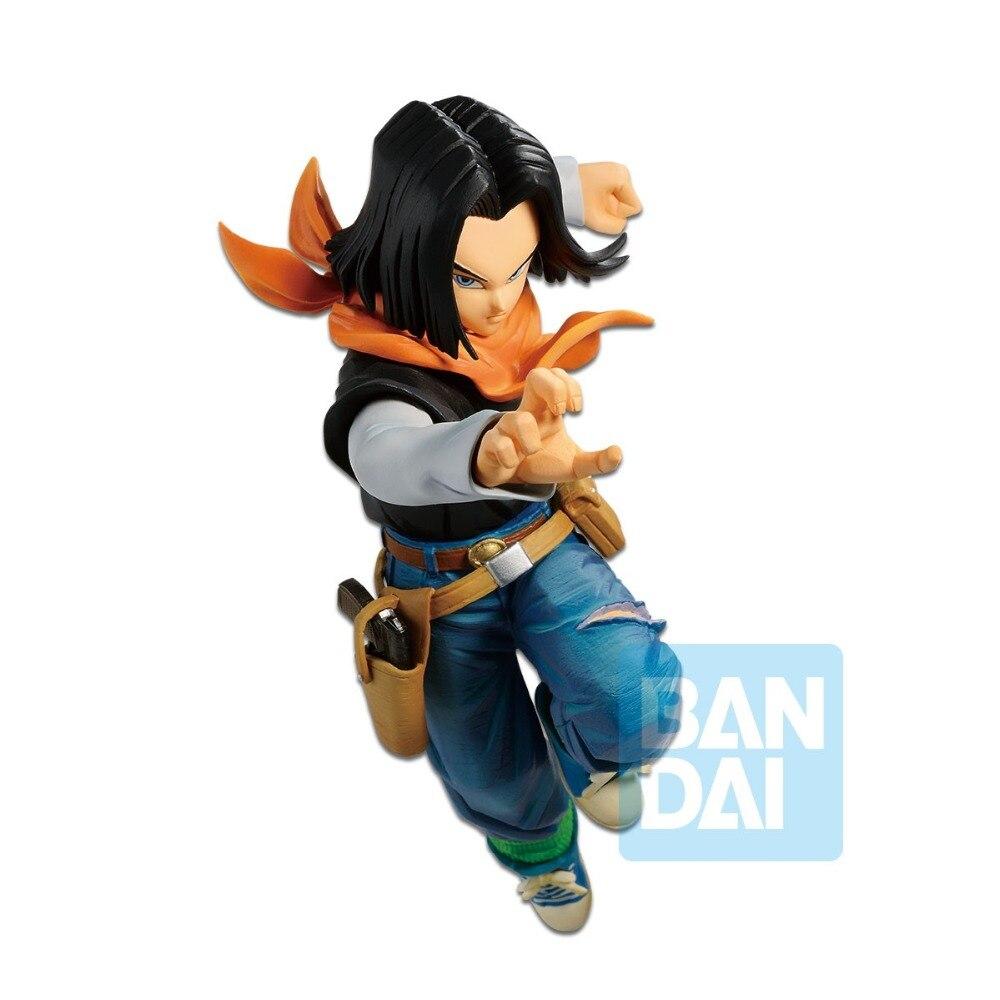 Tronzo Original Banpresto Action Figure Dragon Ball Overseas Limited Android No 17 PVC Figure Model Toys