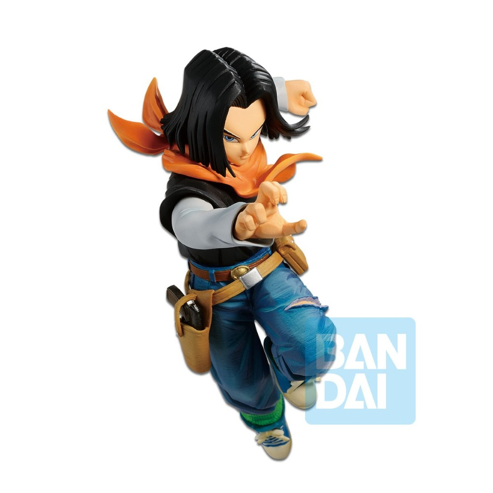 Tronzo Original Banpresto Action Figure Dragon Ball Overseas Limited Android No.17 PVC Figure Model Toys DBZ Figurine Brinquedos-in Action & Toy Figures from Toys & Hobbies    1