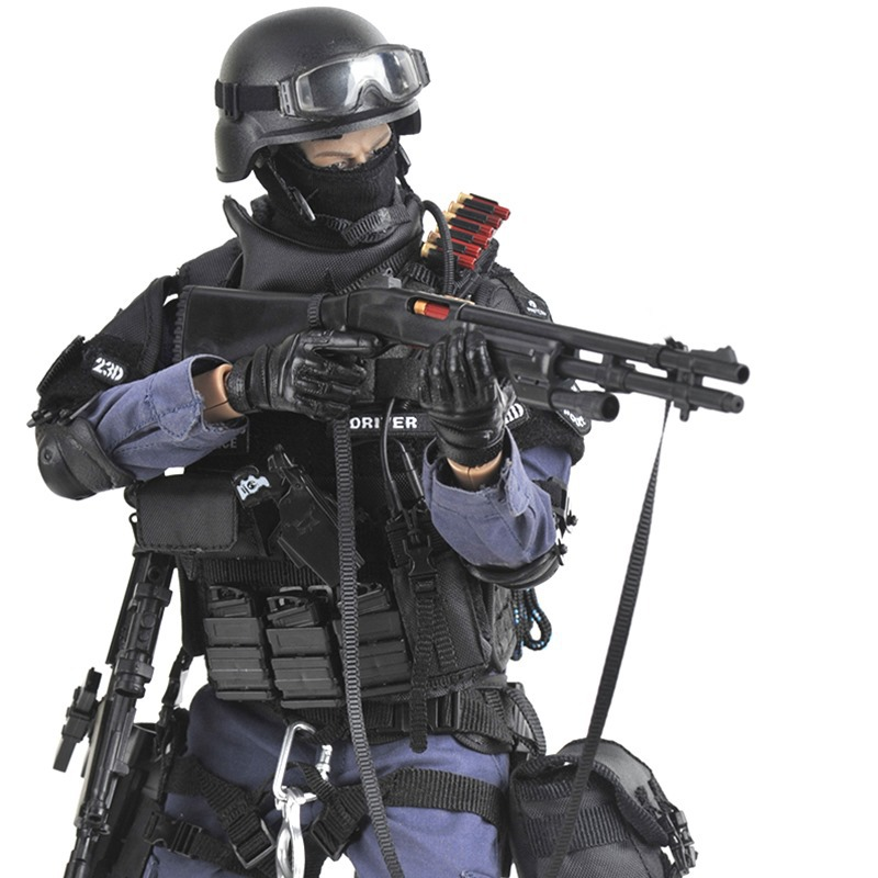 12 ASSUALTER Special Soldier Action Figure 1/6 Scale SWAT Models Army Toys Collection Boys for Children Gift