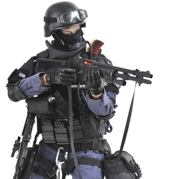 12 ASSUALTER Special Soldier Action Figure 1/6 Scale SWAT Soldier Models Army Toys Collection Boys Toys for Children Gift 1 6 scale movable 3 style 12 swat black uniform military army combat game toys soldier set action figure model toys