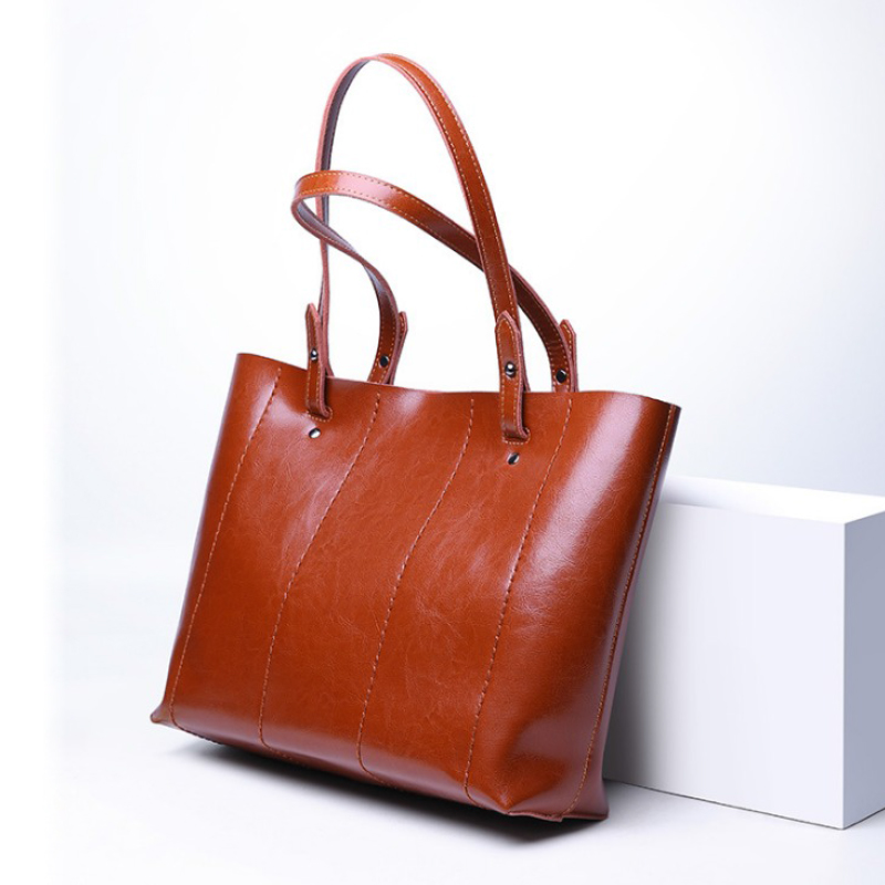 Classic Genuine Leather Women Bags Female Casual Tote Large Capacity Ladies Handbags High Quality Natural Leather Shoulder Bags genuine leather women bags classic large capacity ladies handbags high quality natural leather shoulder bag female casual tote