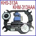 Frete Grátis Original KHS-313A KHM-313AAA Optical Pick UP Mecanismo KHM313AAA DVD Lens Laser Bloco Optical Pick-up