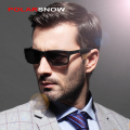 Aluminum Polarized Men Sunglasses Mirror Sun Glasses Driving Outside Glasses Square Goggle Eyewear Accessories For Men 8554