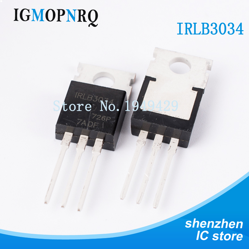 5PCS/LOT IRLB3034PBF IRLB3034 HEXFET Power MOSFET TO-220 NEW Triode