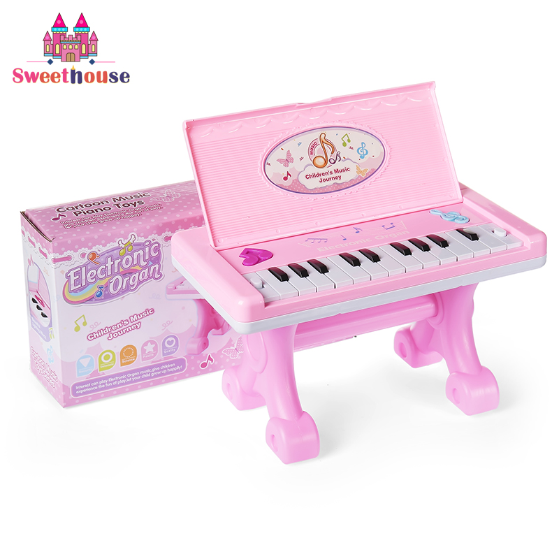22 Teclas Piano Electrónico Juguetes para Bebés Teclado Instrumento - Educación y entrenamiento - foto 5
