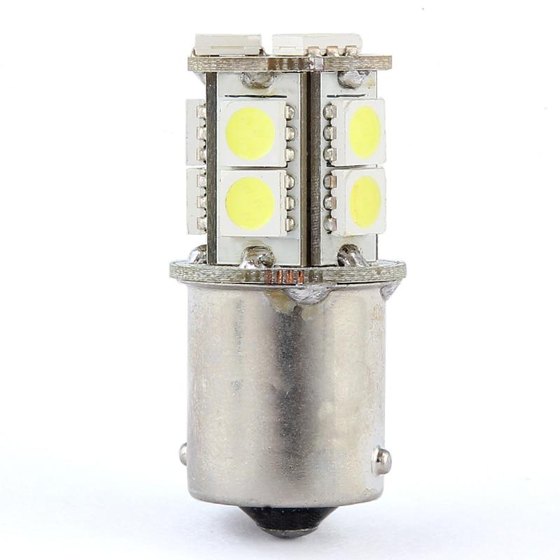 XIEYOU 2PCS 1156 S25 BA15S 13-SMD 12V LED светлини за - Автомобилни светлини - Снимка 4