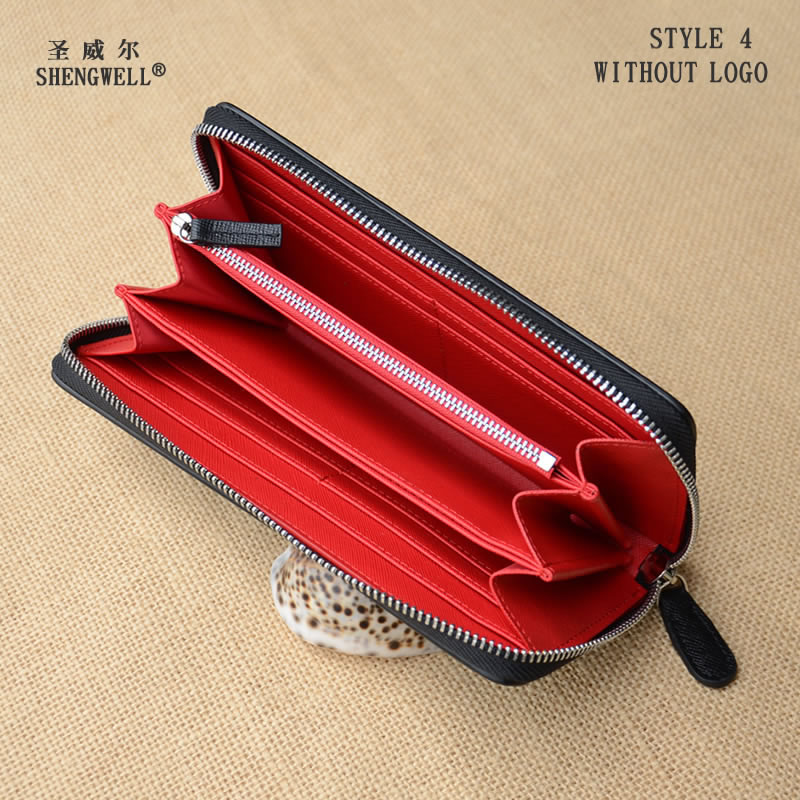 Fashion Zipper Wallet Men Long Purse Card holder Genuine Cow Leather Organizer lady's clutch qiyi megaminx magic cube stickerless speed professional 12 sides puzzle cubo magico educational toys for children megamind