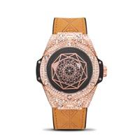 Switzerland watches men luxury brand rolexable diamond circle fashion trend men's watch luminous waterproof sports quartz watch