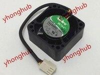 NIDEC TA150DC C34636 57 GHPF DC 12V 0.12A 3 wire 40X40X20mm Server Cooler Fan