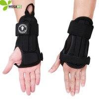 WOSAWE New EVA Sports Wristband Sprain Wrist Support Wrist Protector Carpal Tunnel Wrist Brace Guards For