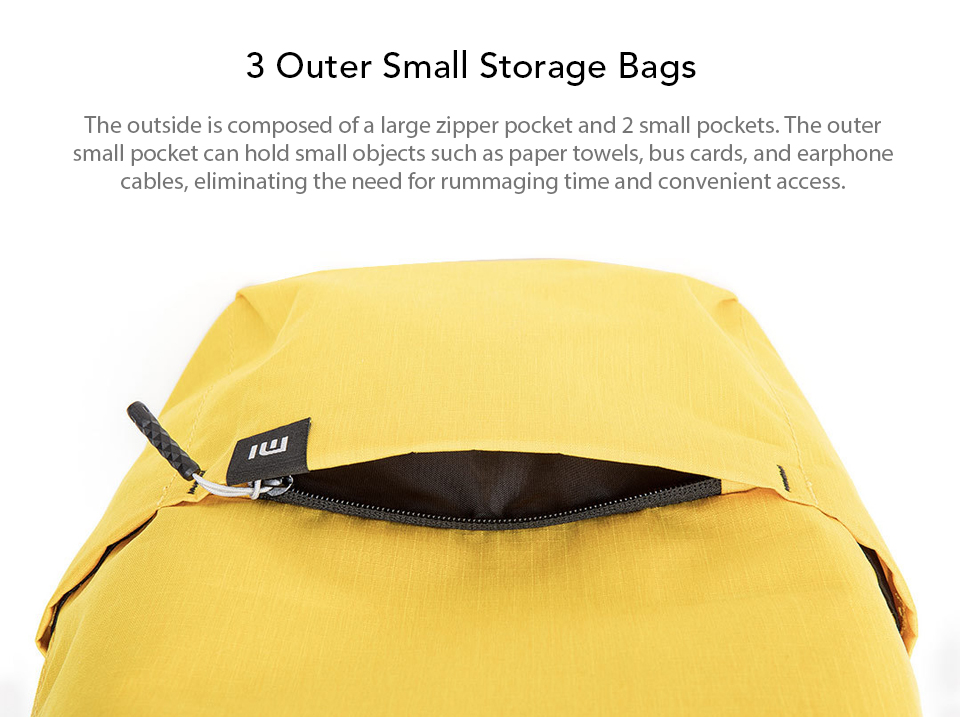 Original Xiaomi 10L Backpack Bag Colorful Leisure Sports Chest Pack Bags Unisex For Mens Women Travel Camping (6)