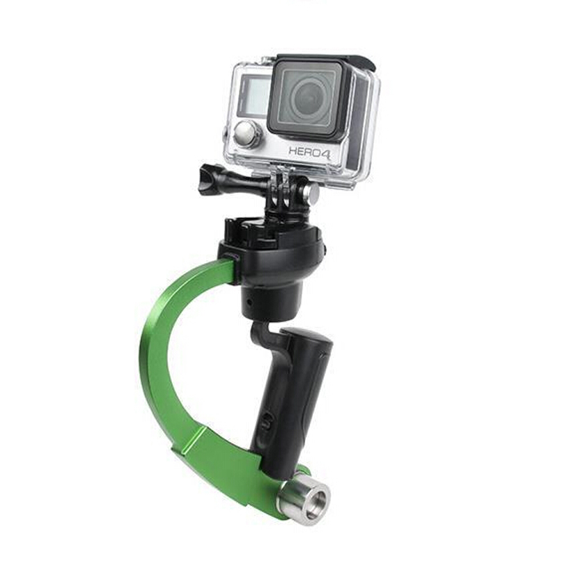 Image 4 - Mini Handheld Camera Stabilizer Video Steadicam Gimbal Suitable For GoPro Hero 7 6 5 SJcam SJ4000 Xiaomi Yi Action Camera-in Stabilizers from Consumer Electronics