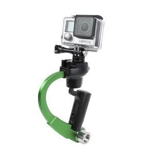 Image 4 - Mini estabilizador de cámara de mano, cardán Steadicam adecuado para GoPro Hero 7 6 5 SJcam SJ4000 Xiaomi Yi, Cámara de Acción