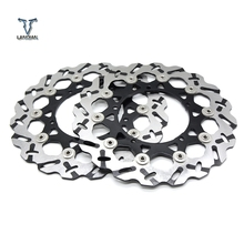 цена на Hight Quantily Motorcycle Front Floating Brake Disc Rotor For YAMAHA YZF 600 R6 2003-2006 YZF1000 R1 2004 2005 2006