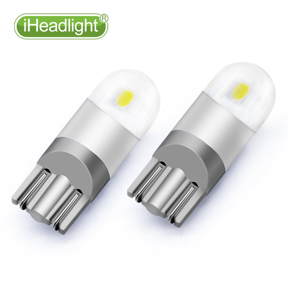 2pcs T10 LED 12v Car Turn Signal room lamp  car reading light Bulb - Car Lights - Photo 2