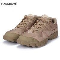 ESDY Outdoor Woestijn Laarzen schoenen De AMERIKAANSE Militaire Aanval Tactische casual Ademende Dragen Slip Mannen Toevallige Reizen schoenen Zapatos