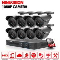 New HD AHD 3000TVL Outdoor Camera 8CH AHD DVR CCTV Video Surveillance System 1080P Camera Kits
