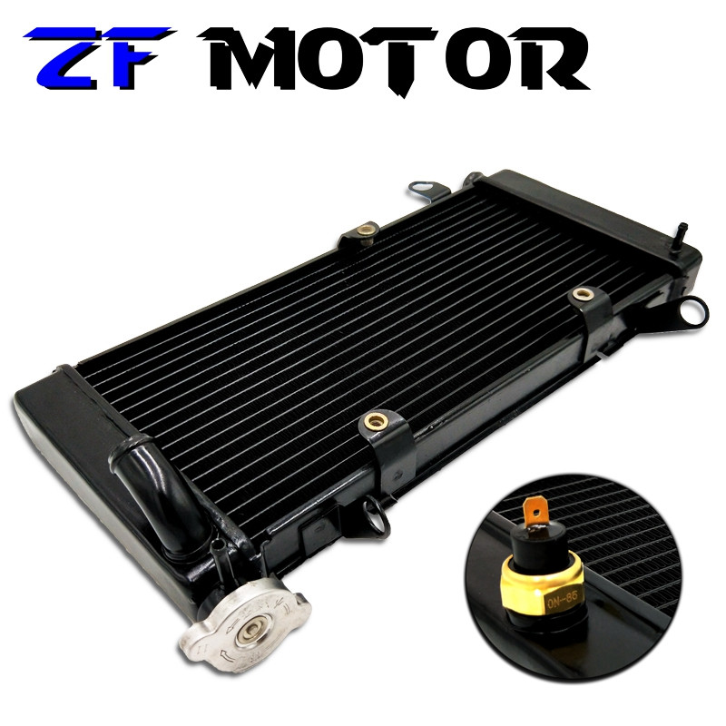 Motorcycle Accessories Water Tank Radiator Cooler Water Cooling For HONDA CBR400 CBR400RR NC29 CBR29 CBR 29