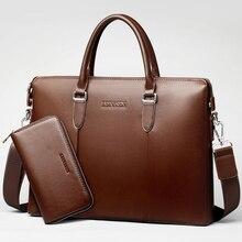 Männer tasche männer handtasche Männer Aktentasche männlichen handtasche casual luxury Designer Notebook business taschen vintage Große kapazität briefcas