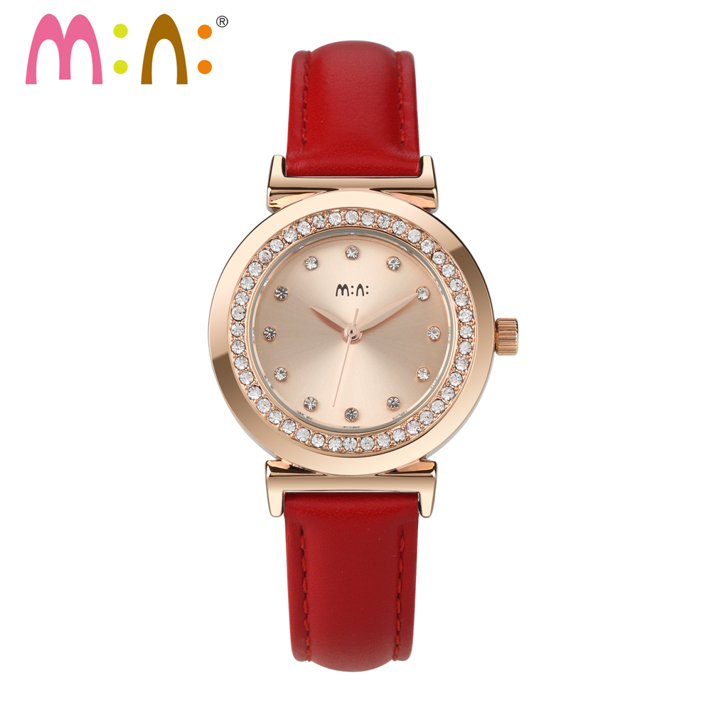 Relogio Feminino Luxury Brand Watches 2017 Ladies Rose Gold Bracelet Quartz Wrist Watch Woman Hours Clock Women saat Reloj Mujer wholesale 650nm laser light therapy female vaginal tighten with laser light therapy