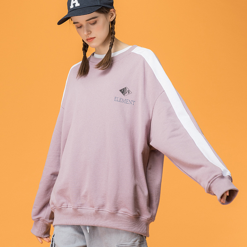 Sweat-shirt japonais en coton graphique Harajuku pour femme urbain fille Streetwear Hip Hop sweat-shirts à col rond surdimensionné S-XL
