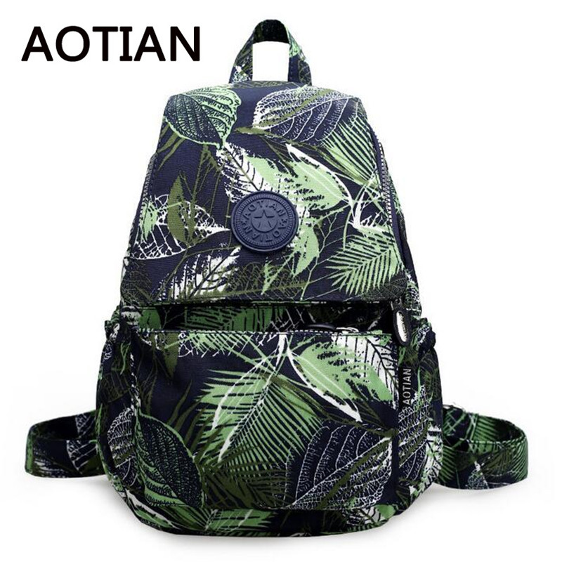 High Quality Canvas Printing Backpack Women School Bags for Teenage Girls Cute Bookbags Fashion Laptop Backpacks Female mochilas