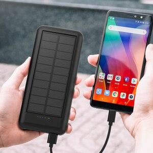 Image 5 - Allpowers 新加入 24000 mah 太陽光発電銀行ポータブル外部バッテリーソーラー powerbank の充電器電話