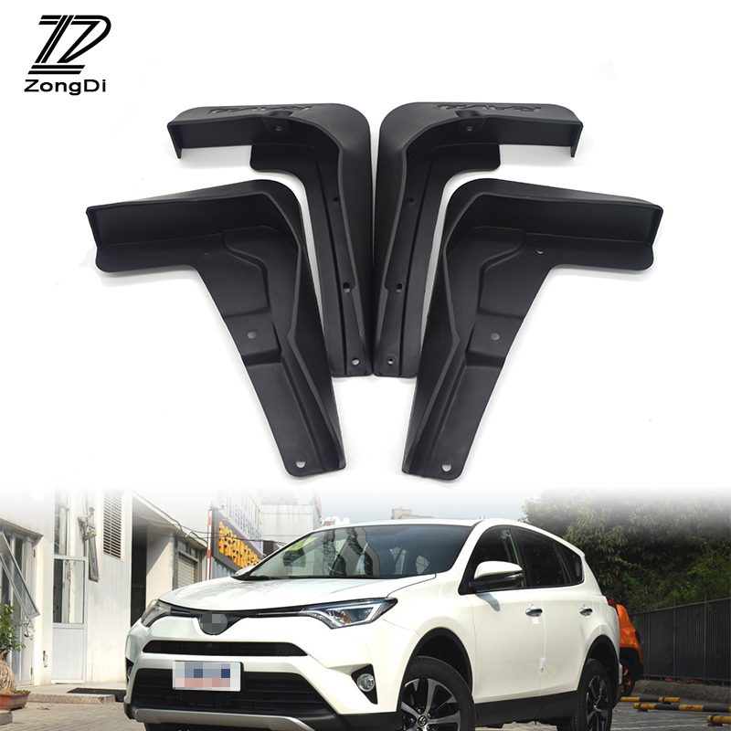 2018 Toyota Rav4 Head Gasket: ZD Car Front Rear Mudguards For Facelifted Toyota RAV4